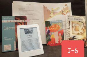J-6: DANS LES COULISSES  Derrière un livre, il y en a toujours d'autres qui inspirent et émeuvent.