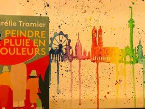 IL PLEUT DEPUIS DES JOURS, mais à Munich, grâce à Lorraine et Jeanne-Claire, on peint la pluie en couleurs , et la ville aussi tant qu'on y est 🎨🖼 C'est extraordinaire à quel point la météo respecte mon titre.