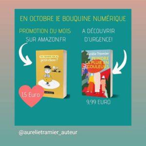 Et pour ceux et celles qui ont des envies gourmandes, mon petit chou est en promo Kindle pendant tout le mois d'octobre à 1.