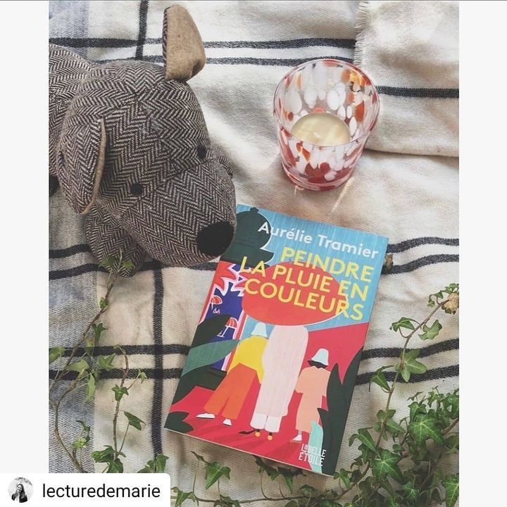 Repost @lecturedemarie •  •  •  •  • Peindre la pluie en couleurs – Aurélie Tramier 🎨  💛 Avis Ce livre est un coup de coeur pour moi!